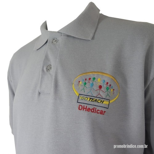 1c02aab5c Camisa polo personalizada - Pólo Confeccionada em Malha Piquet Bordada ou  Silk