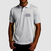 Camiseta polo Bordado ou silk