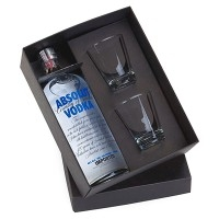 Kit bebidas Personalizado | Kit Bebida Absolut - DIRECT BRINDES