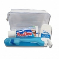 Kit higiene oral Personalizado | KIT NEVADA 1 FREEDENT / HIGIENE BUCAL - PERSONALIZADO  - CIRILLO PERSONALKIT