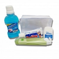 Kit higiene oral Personalizado | KIT NEVADA 2 FREEDENT / HIGIENE BUCAL - PERSONALIZADO  - CIRILLO PERSONALKIT