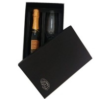 Kit Personalizado | KIT C/ CHAMPAGNE VIDRO 186 ML + CHANDON BABY 187 ML - IF BRINDES