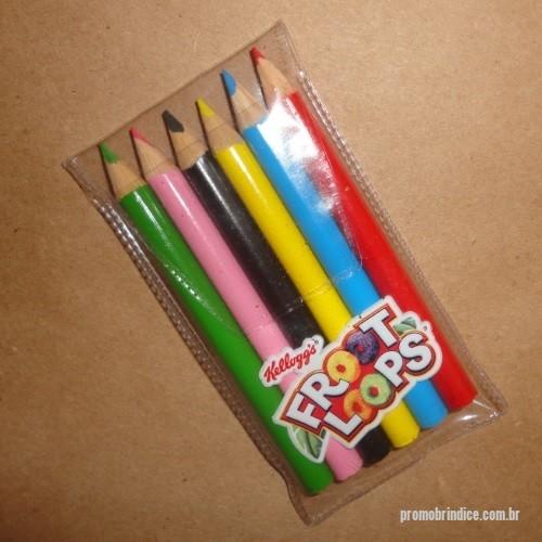 dc1bd95ef Lápis de cor personalizados - Conjunto de 1 2 lápis de cor ou tamanho grande