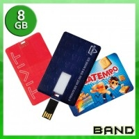 Pen Card Personalizado | Pen Card 8 GB - BAND BRINDES