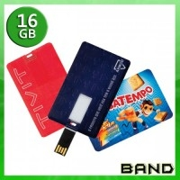 Pen Card Personalizado | Pen Card 16 GB - BAND BRINDES