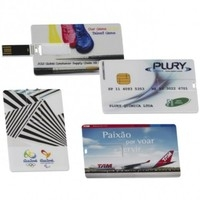 Pen Card - Personalizado - 4 GB e 8GB