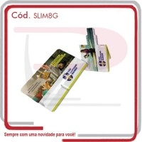 Pen Drive Slim Card de 8 GB