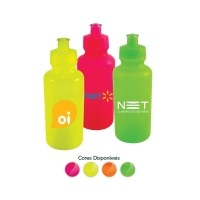 Squeeze Personalizado | Squeeze Color Neon 550ml - DIRECT BRINDES